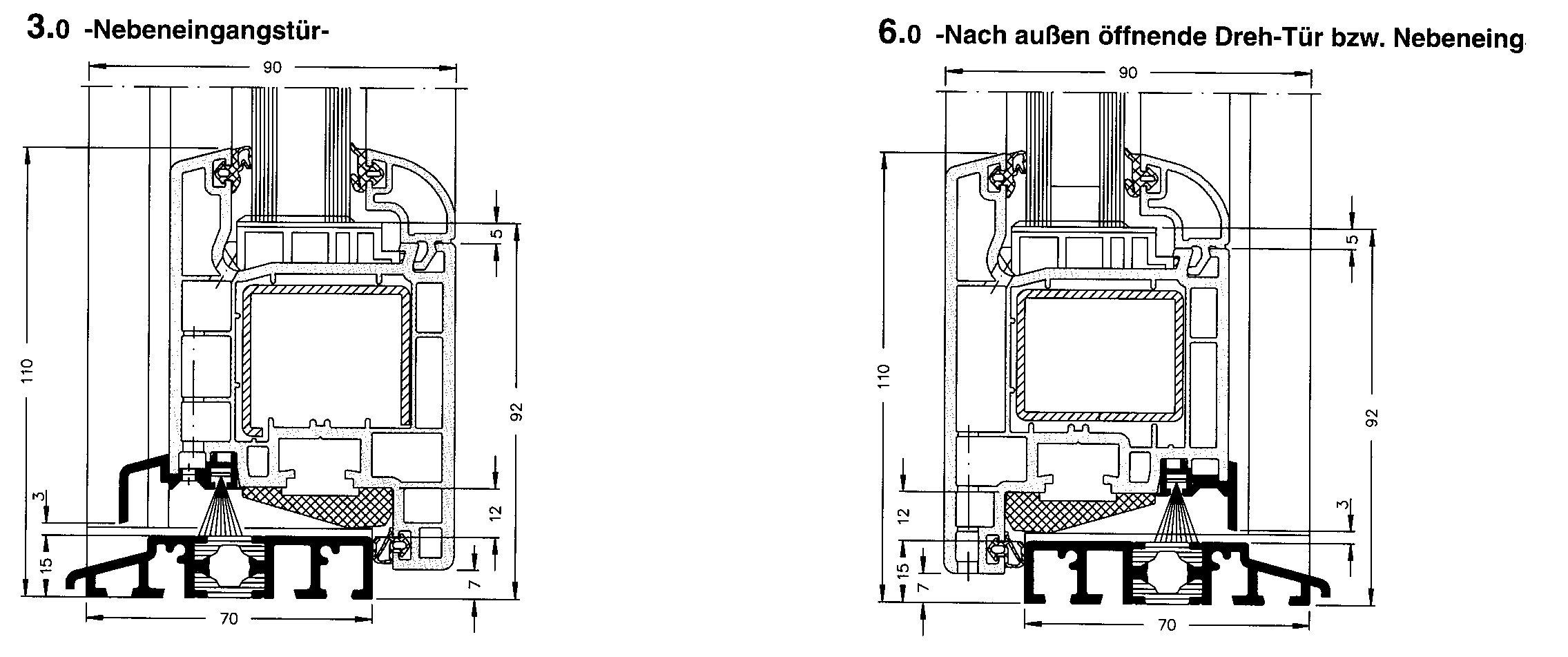 Fenster Technik Bereich Herrmann Bauelemente
